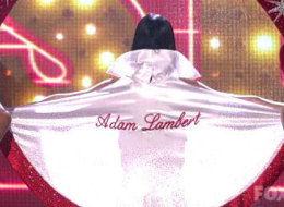 Katie Perry Adam Lambert on cape