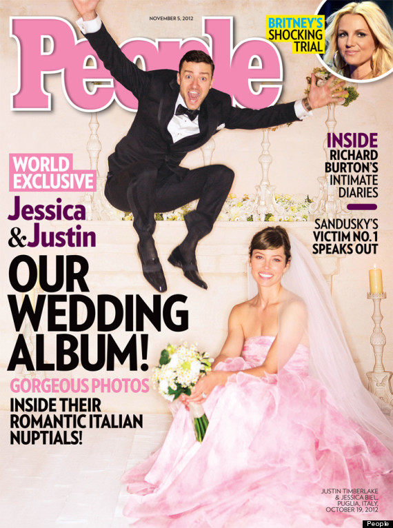 justin timberlake jessica biel wedding photo