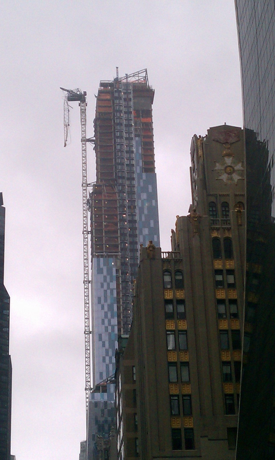 crane collapse new york