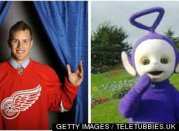 Riley Sheahan Arrested Drunk Teletubby
