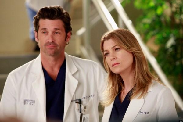 'Grey's Anatomy': Ellen Pompeo And Patrick Dempsey Talk ...