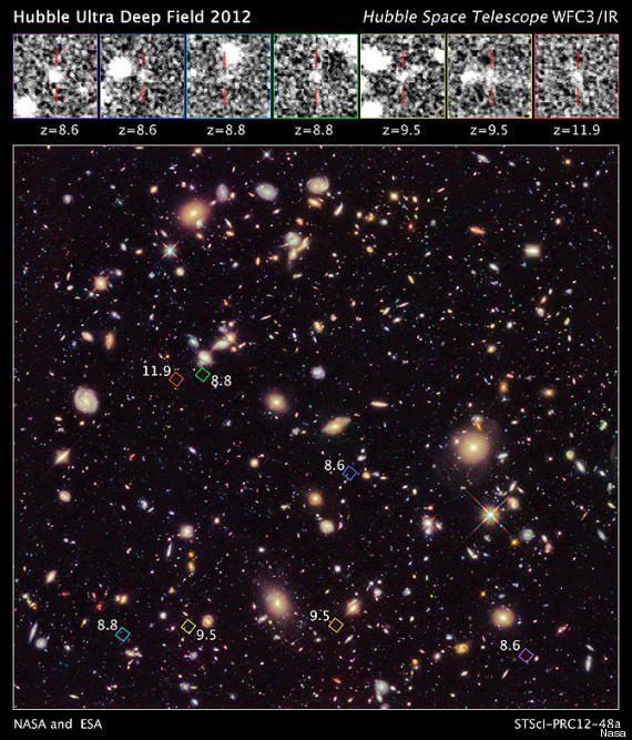 The new detail of the Ultra Deep Field