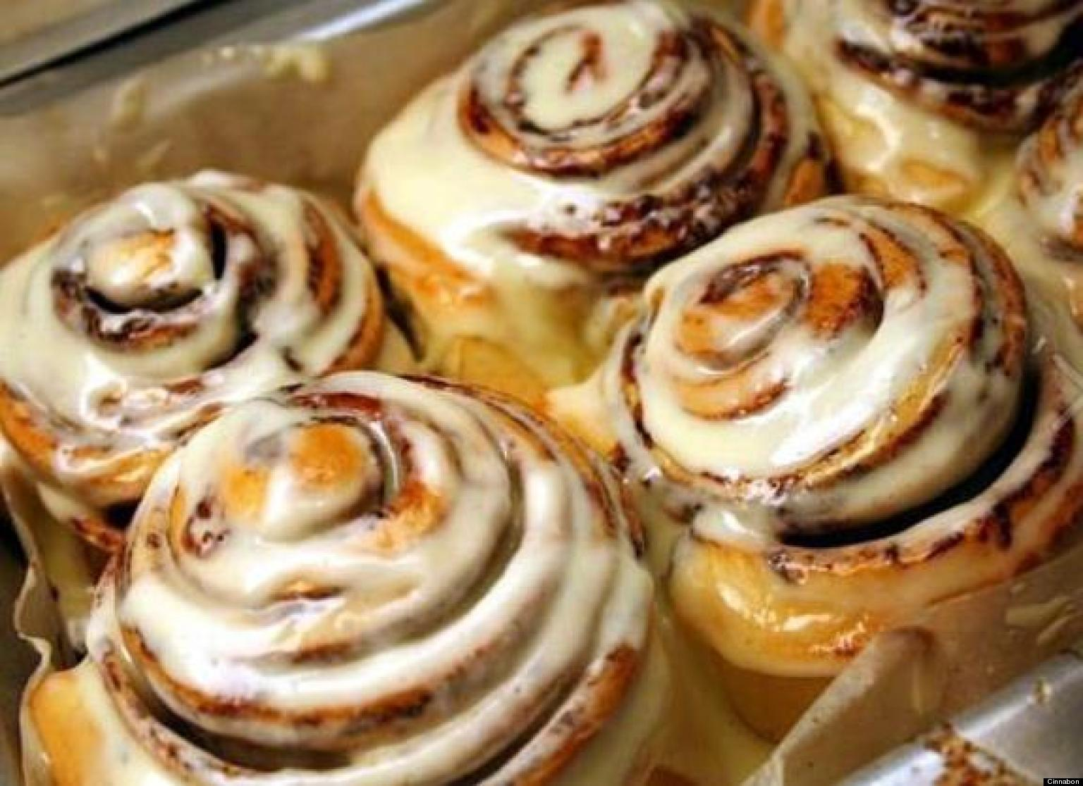 5 Things You Didnt Know About Cinnabon HuffPost