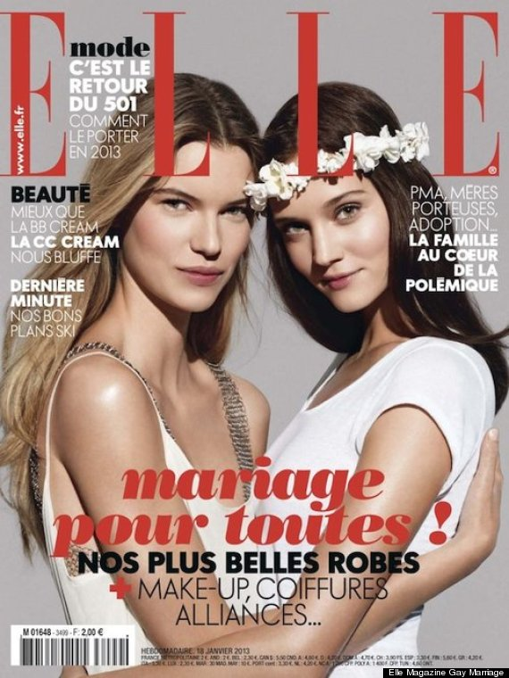 elle magazine gay marriage