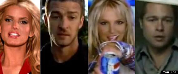 Celebrity Super Bowl Commercials