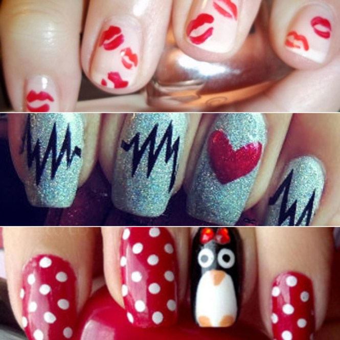 Valentines Nail Designs Picture