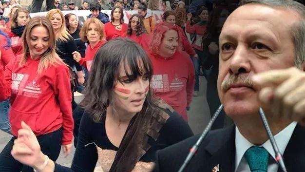 Image result for erdogan women'