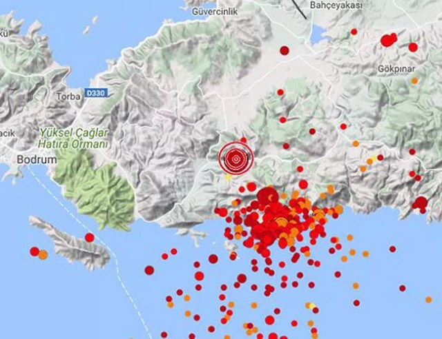 Turkish resort of Bodrum slid 26 centimeters after strong July quake: Study