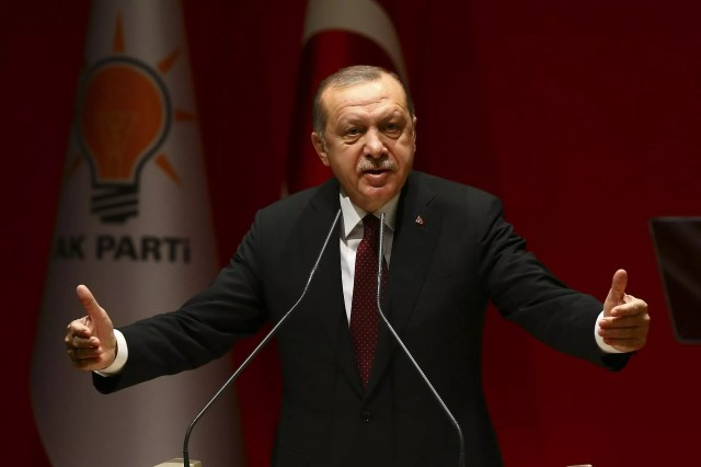 Turkish operations in Syria to reach up to Manbij and Iraqi border: Erdoğan