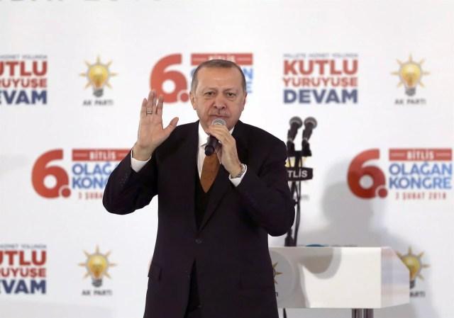 Turkish troops getting close to Afrin city: Erdoğan