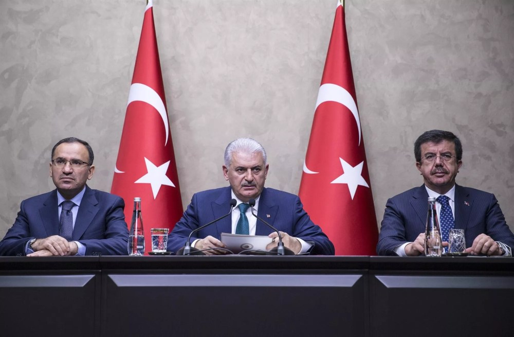 No evidence Turkish helicopter was shot down in Syria: Turkish PM