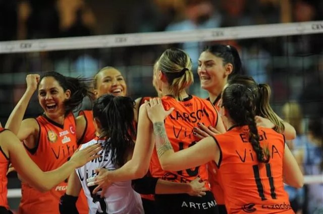 Eczacıbaşı women claim European title