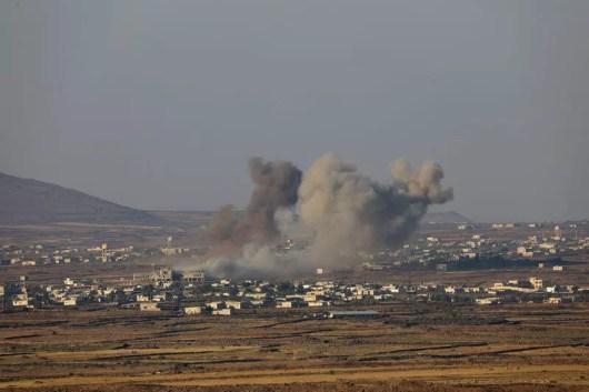 Image result for Syria's Assad set to recover Golan frontier as rebels surrender