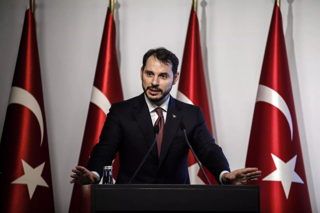 Albayrak vows cooperation with intl stakeholders, Central Bank independence on Turkey's new economic model