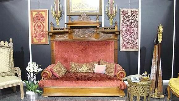 ottoman sultan s throne stirs debate