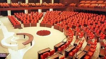 Meclis, 600 milletvekiline göre düzenleniyor