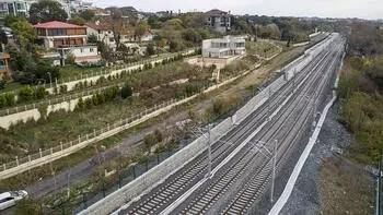 Gebze-Halkalı tren seferleri 1 ay sonra başlayacak