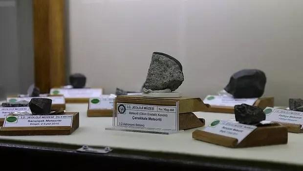 Türkiye'ye düşen meteorda 'yaşam izi' bulundu