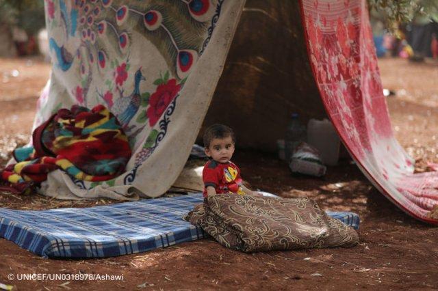 Los niños se llevan la peor parte de la creciente violencia en el noroeste de Siria