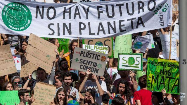 Feminismo y juventud por un planeta habitable