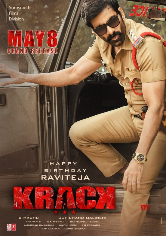 Krack-Movie-Mass-Maharaja-Ravi-Teja-Birthday-wishes-and-Release-date-HD-Poster-and-Still-scaled