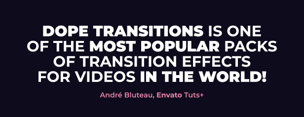 Dope Transitions | For Premiere Pro - 2
