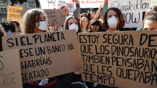 Mañana se celenbra la segunda protesta global del movimiento Fridays For Future