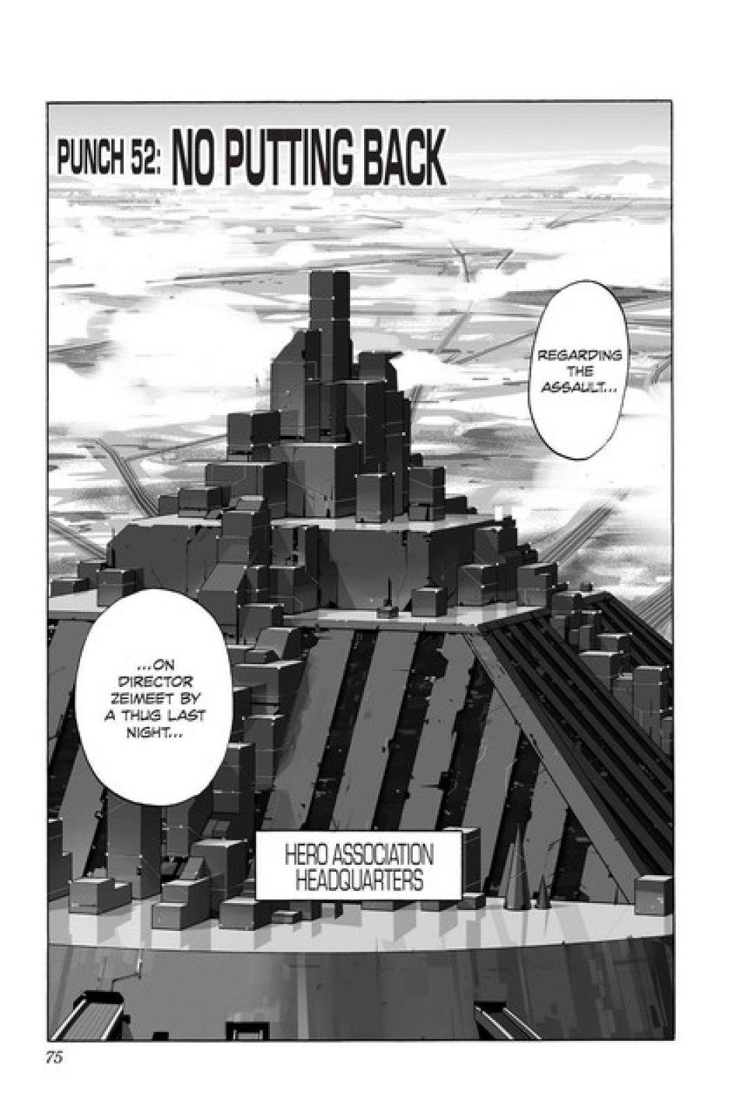 One Punch Man Chapter 52-001