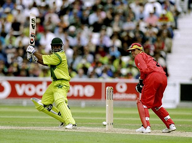 11-Jun-1999-Saeed-Anwar-of-Pakistan-on-his-way-to-a-century-in-the-World-Cup-Super-Six-match-against