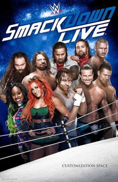 WWE Friday Night Smackdown (6th Nov 2020) Full Show 720p HDRip 950MB | 350MB Download