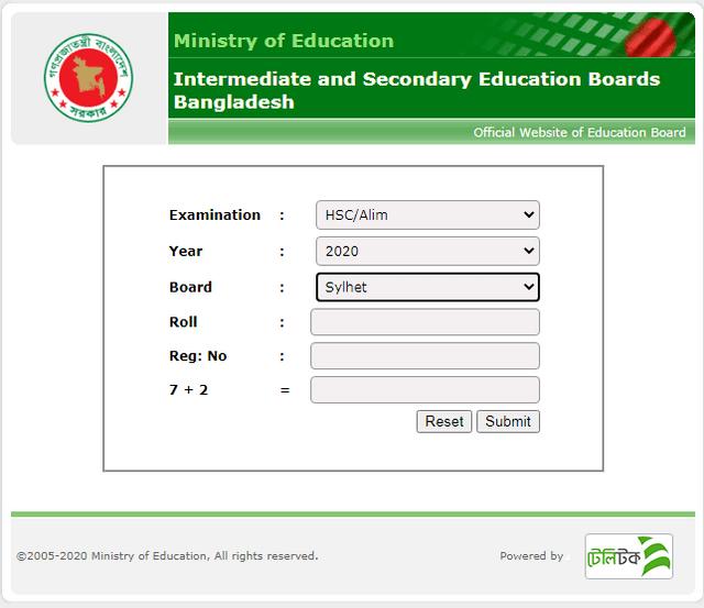HSC-result-Sylhet-Board