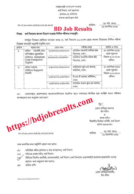 Mof-Job-Exam-Notice