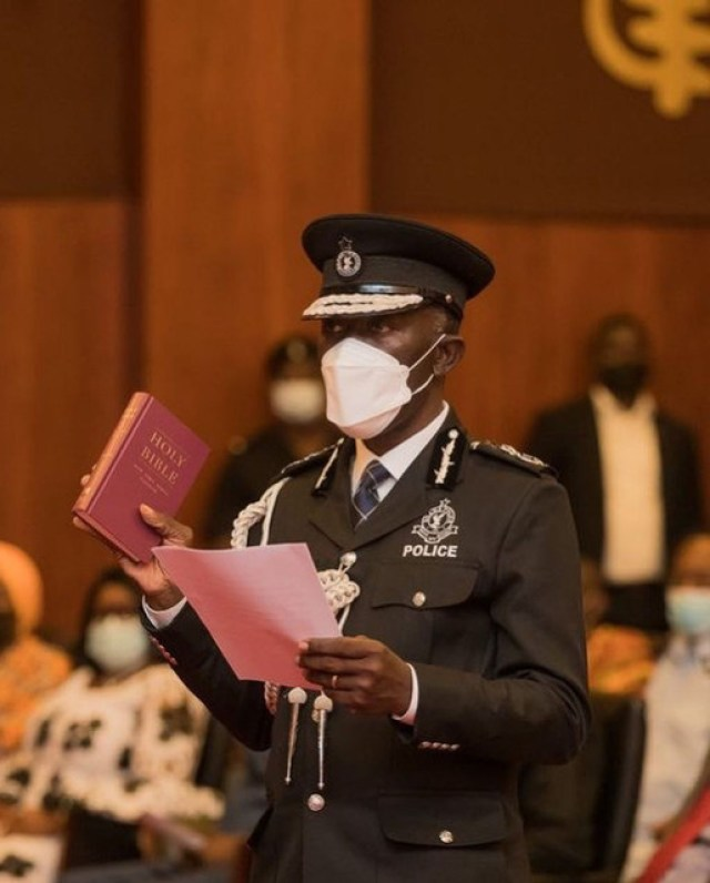 I'll ensure a better Police Service than what I inherited – Dampare