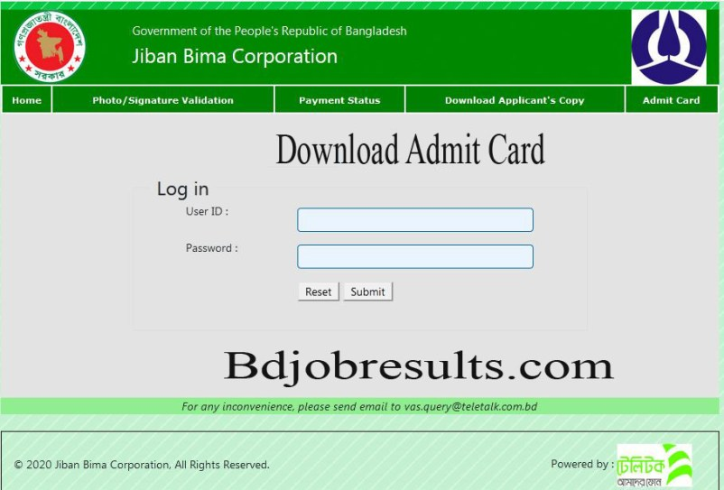 JBC-Admit-Card