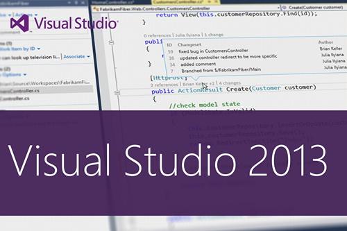 ¿Qué es Microsoft Visual Studio 2013?
