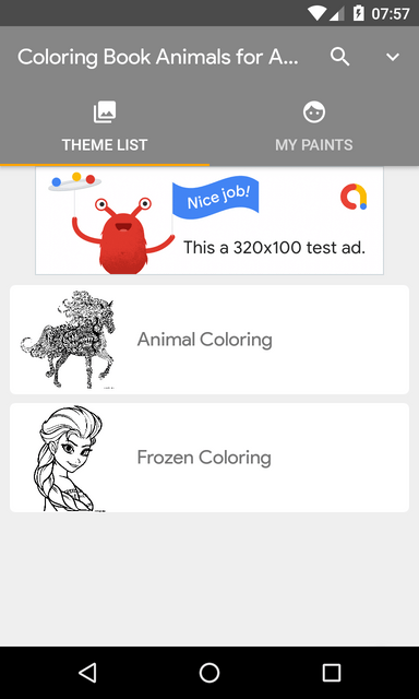 Coloring Book Android with Admob - 4