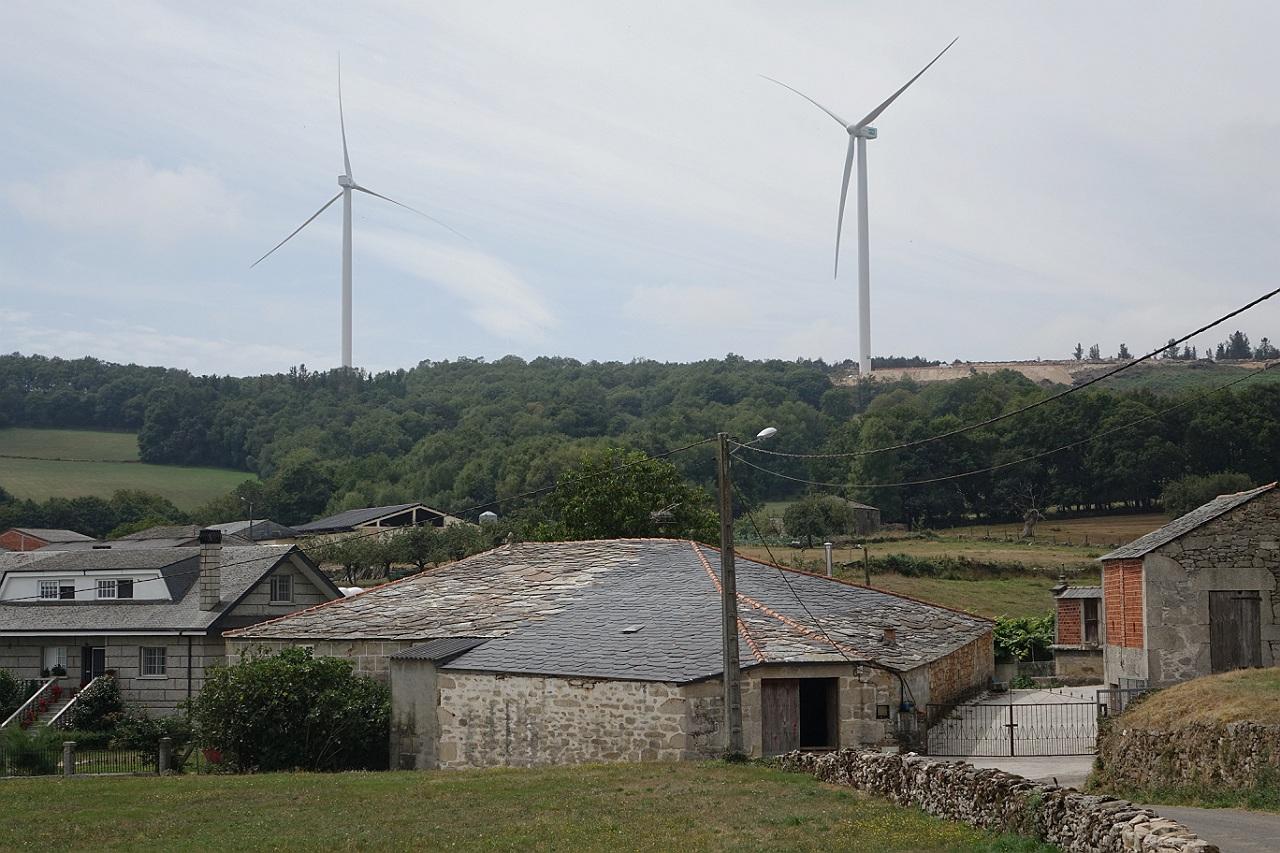 O Grupo Común da Esquerda leva ao Parlamento galego a polémica dos parques eólicos da Serra do Oribio e Paradela
