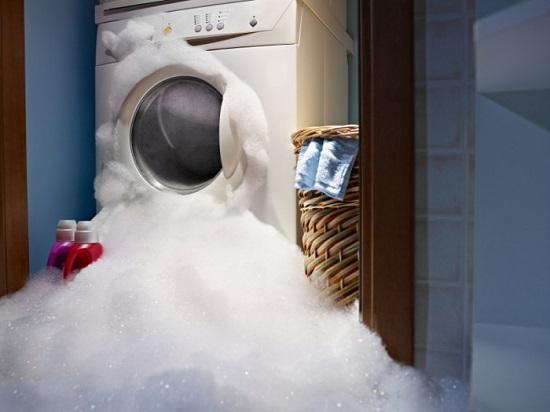 Слишком много пены в стиральной машине