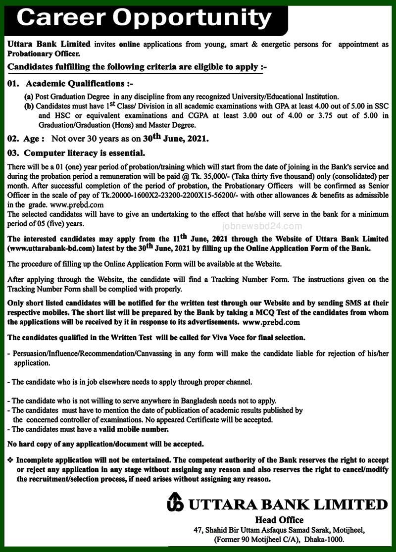 Uttara-Bank-Limited-Job-Cir