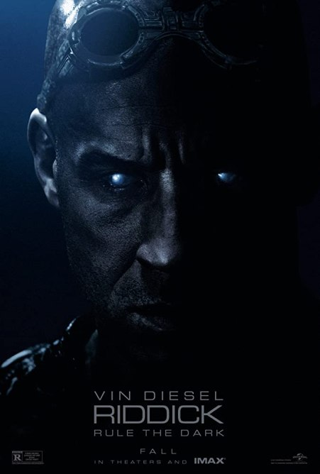 Riddick 2013 Hindi Dual Audio 720p BluRay ESub 900MB