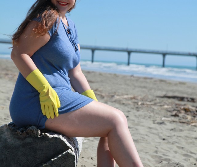 Rubber Gloves At The Beach Part