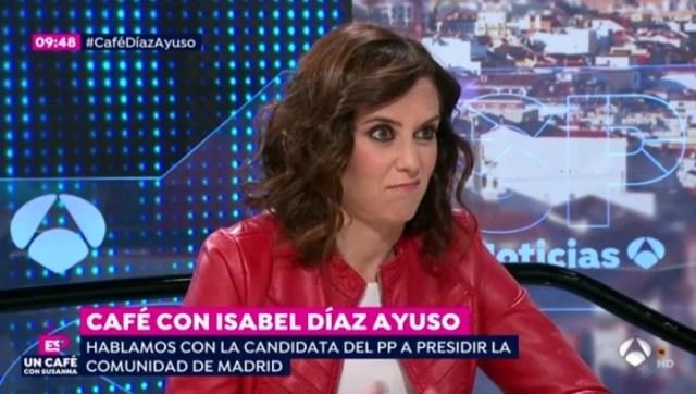 La mueca de Díaz Ayuso al preguntarse si asistirá al Orgullo Gay