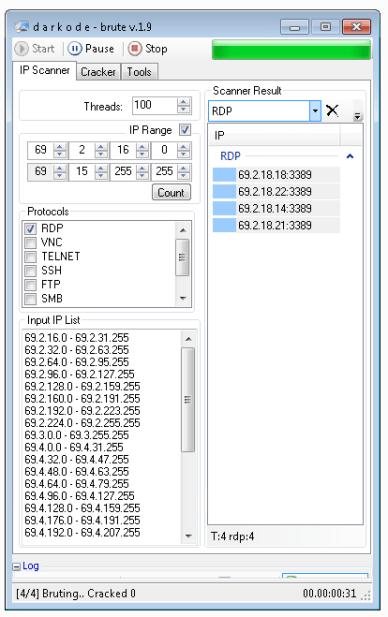 DK Brute 1.9 + Keygen (Scanner & Cracker)
