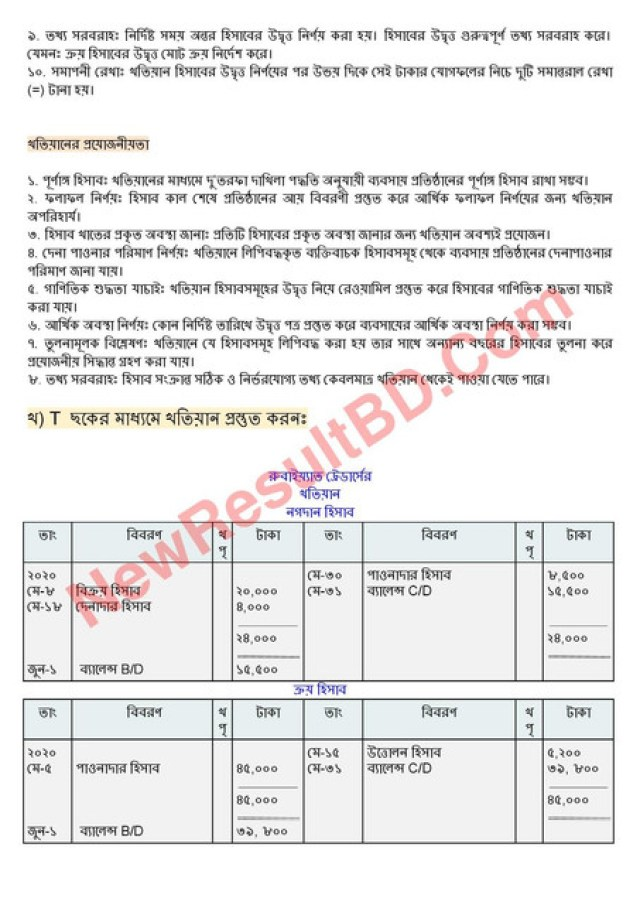 SSC Accounting Assignment Answer 2021 pdf download English version 2