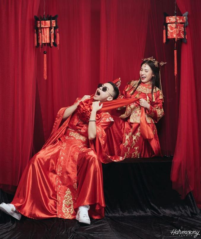 ảnh cưới phong cách Hong Kong, ảnh cưới phong cách cổ trang, ảnh cưới phong cách Trung Hoa