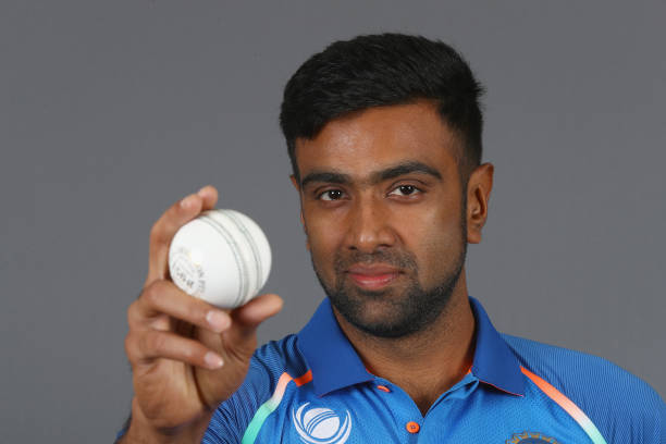 Ravichandran-Ashwin-of-India-poses-during-an-India-Portrait-Session-ahead-of-I