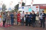 """Inauguración de ambulancia en San Nicolás, Embajador del Japón: """"Queremos promover la seguridad humana""""."""