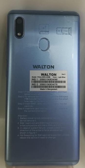 Walton Primo GM3+3GB Ram Flash File