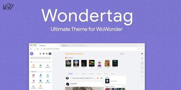 Wondertag - The Ultimate WoWonder Theme