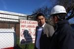 Seremi de Energía fiscalizó instalaciones de gas en Centros de Salud de Chillán.